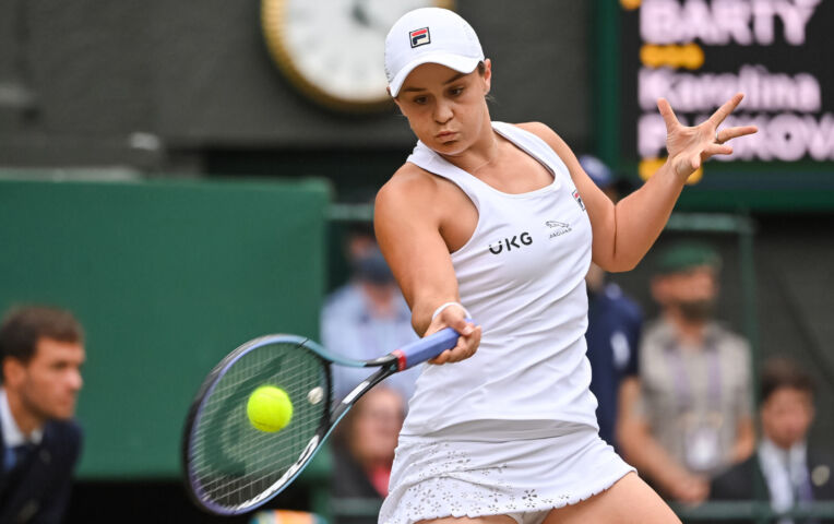 Barty wint de finale van Wimbledon