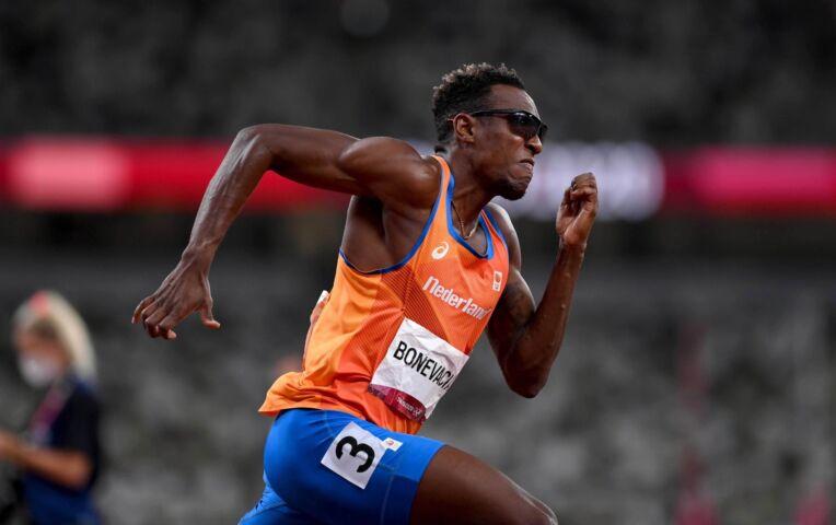 Bonevacia 3e op 400 meter Lausanne