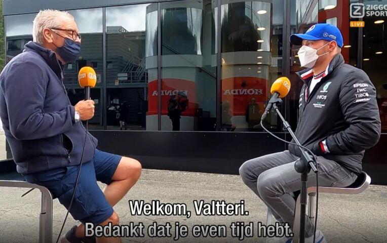 Olav in gesprek met Bottas: 'Ik houd van de Formule 1, ik kan nog wel een paar jaar mee'