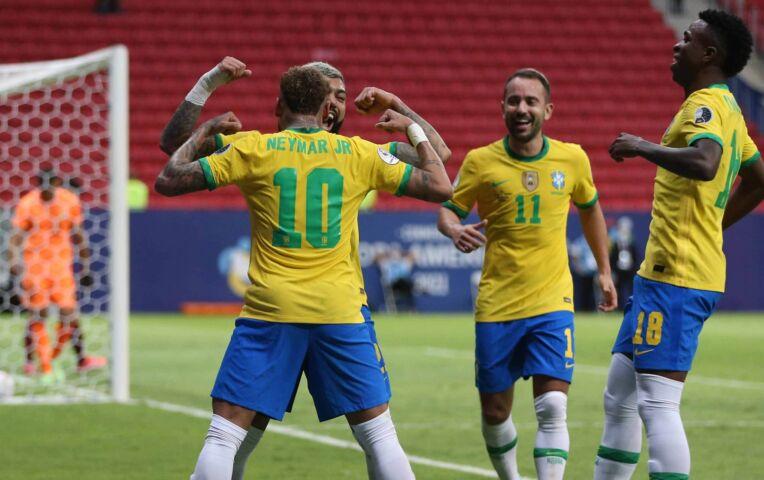 Copa América: Brazilië - Venezuela