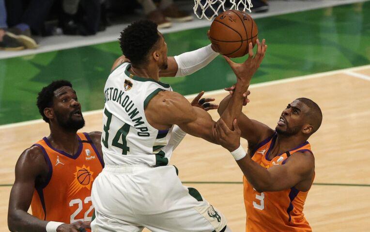 The Fast Break: Indrukwekkende Bucks trekken NBA Finals weer gelijk