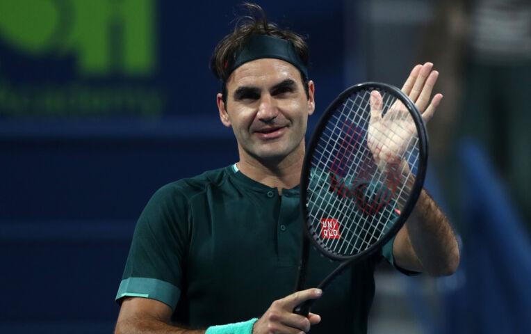 De rentree van Roger Federer