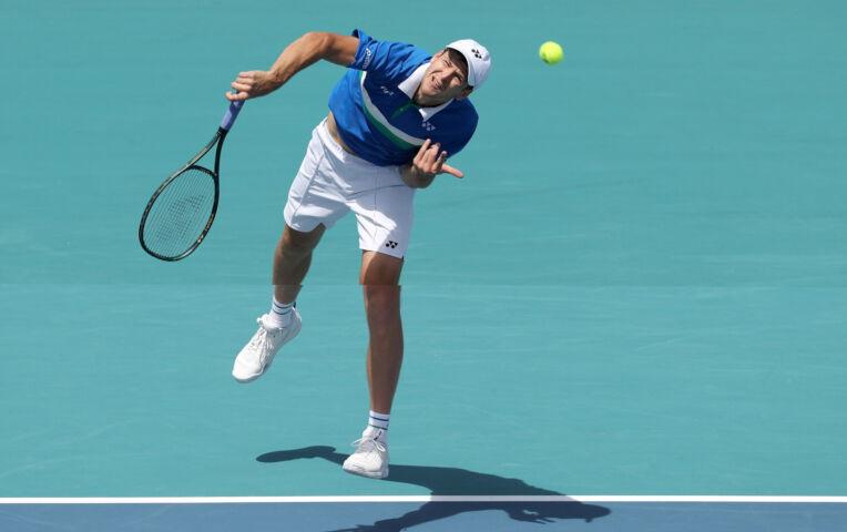 Hurkacz wint zijn eerste Master toernooi