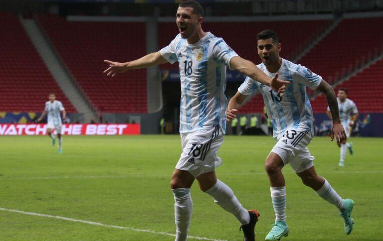 Copa America: Argentinië - Uruguay