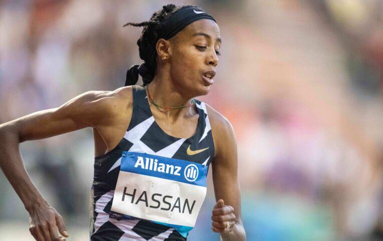 Kipyegon blijft Hassan in mooi sprint net voor
