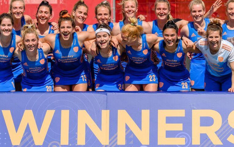 Nederlandse hockeydames winnen eenvoudig van België
