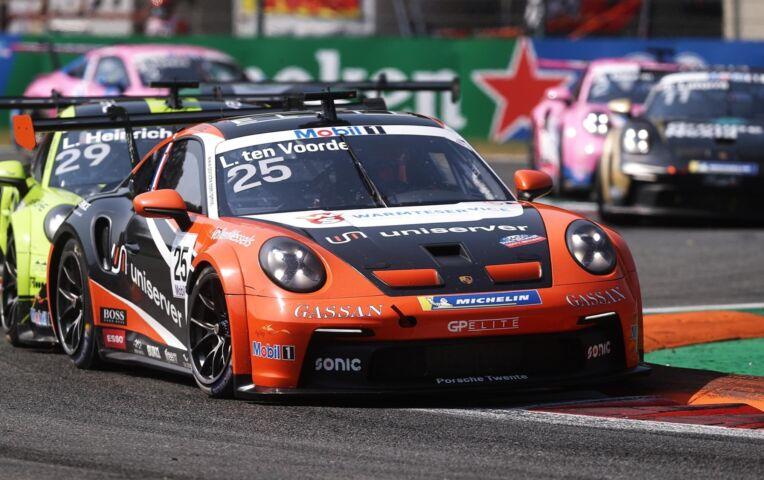 Larry ten Voorde wint Porsche Carrera Cup