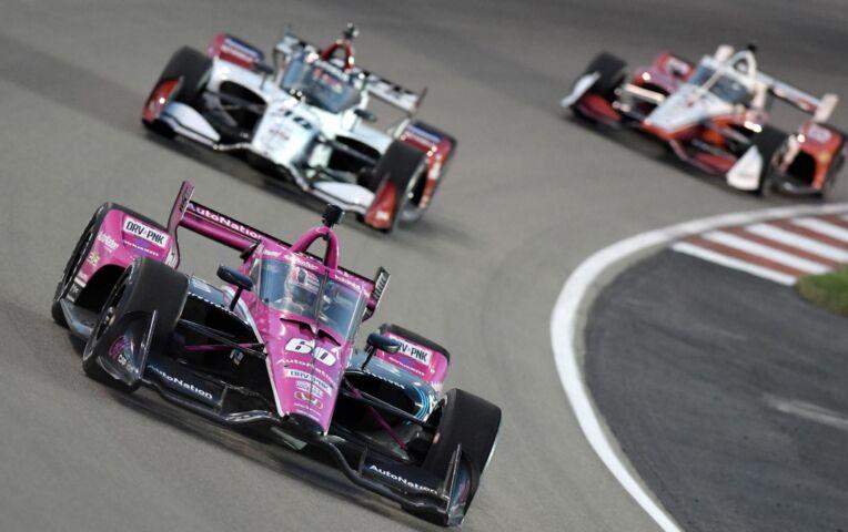 Indycar Portland: Het gaat gelijk mis bij de start