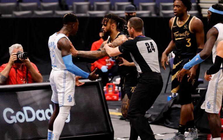 The Fast Break: Lakers winnen verhit duel tegen Raptors