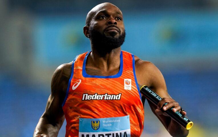 4x 100 meter mannen met sterk Nederland