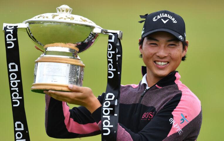 Min Woo Lee wint de Scottish Open