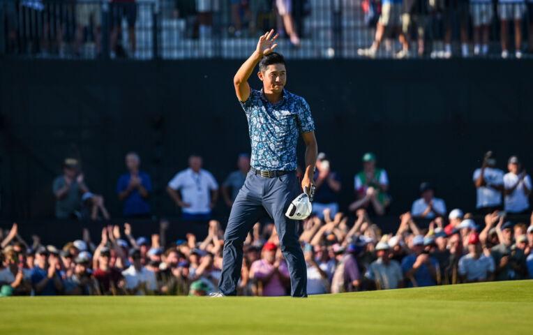 Collin Morikawa wint The Open