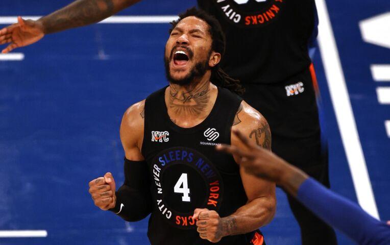 The Fast Break: Knicks schitteren in kolkend Madison Square Garden