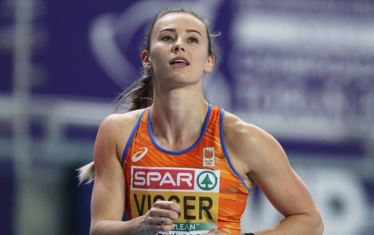 Nadine Visser wordt tweede in Zurich met Nederlands record