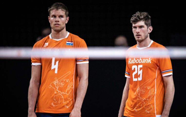 Nederlandse volleyballers verliezen nipt van de VS