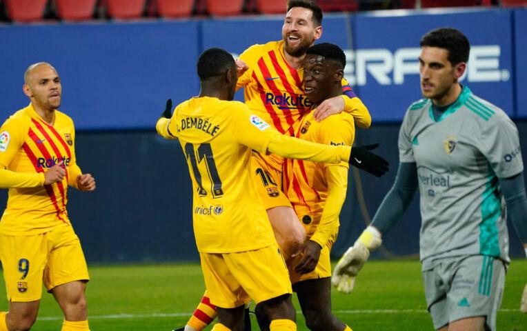 Osasuna - Barcelona