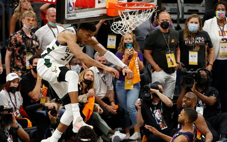 The Fast Break: Giannis dunkt Bucks naar pole position voor NBA-titel