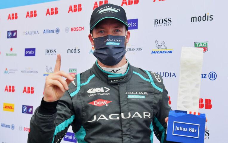 Formula E: Sam Bird wint race 11 in New York
