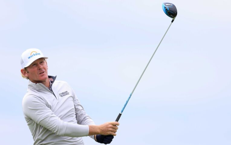 Spectaculaire eagles op The Open