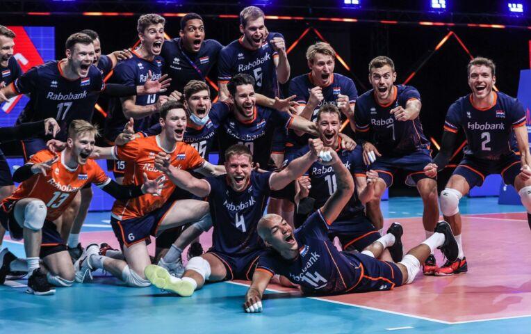 EK Volleybal Heren: Nederland - Noord-Macedonie (Heren)