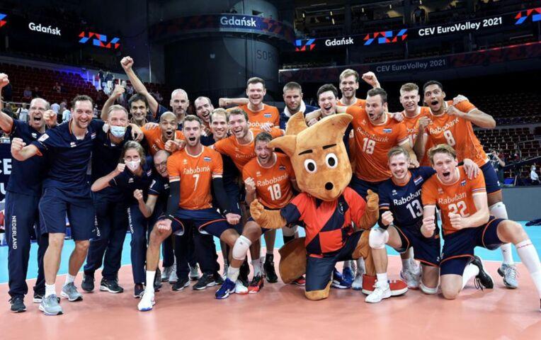 Nederland - Portugal (volleybalmannen)