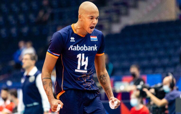 EK Volleybal mannen, Nederland - Turkije