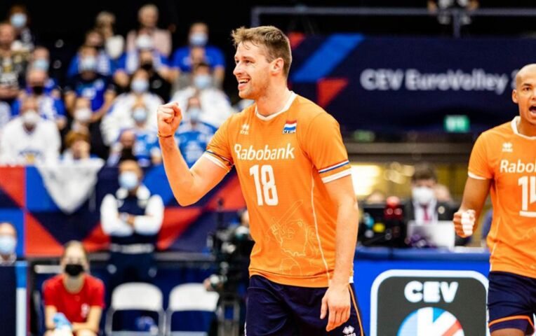 EK Volleybal: Nederland - Finland