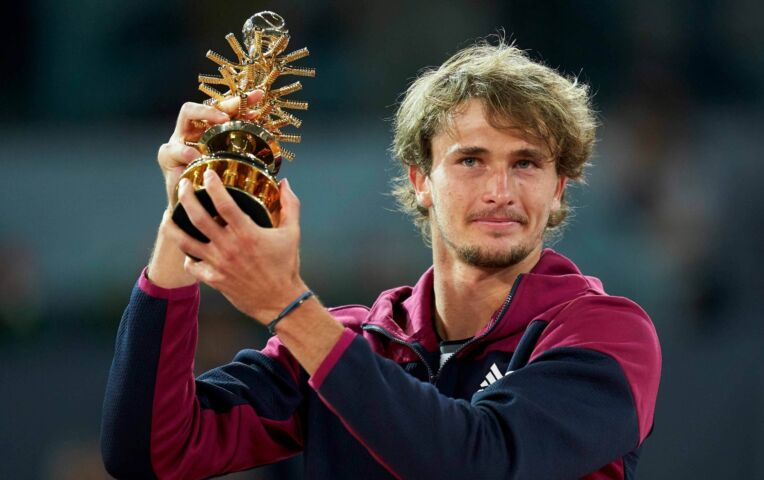 Zverev pakt titel in Madrid