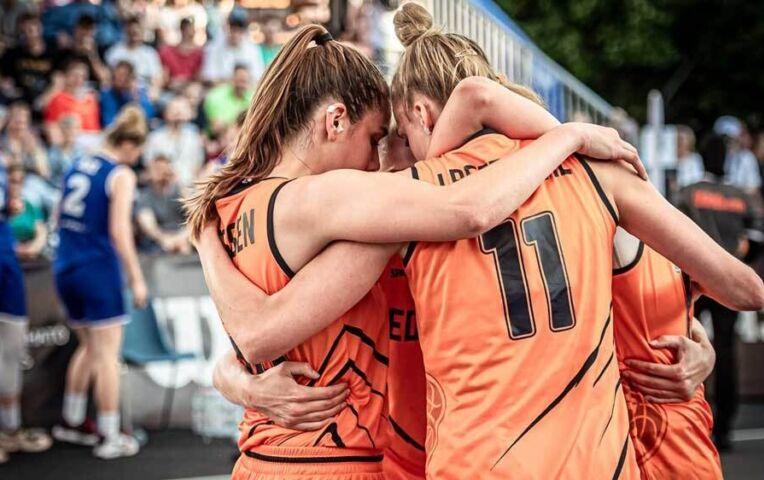 OKT 3x3 Basketbal: Spectaculaire zege op Estland