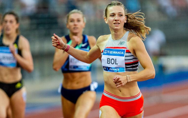 Femke Bol verbetert haar eigen NR 400 m horden