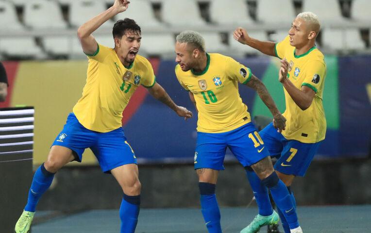 Copa América: Peru - Brazilië