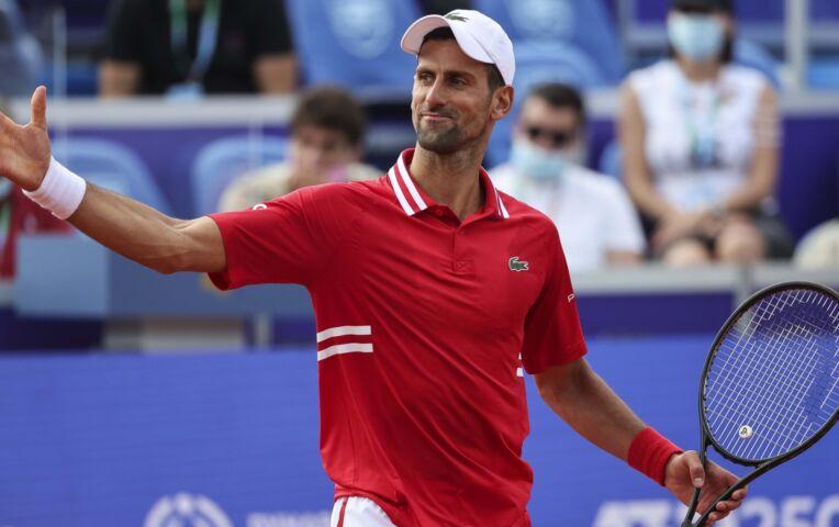 Djokovic naar de finale van ATP Belgrado