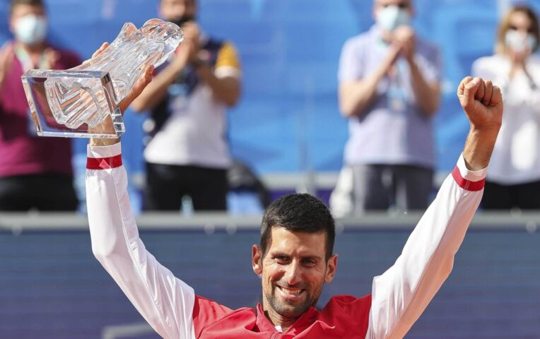 Djokovic wint zijn eigen toernooi in Belgrado