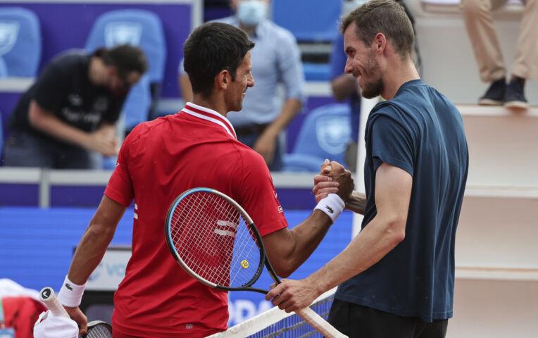 Djokovic wint van Moraing in Belgrado