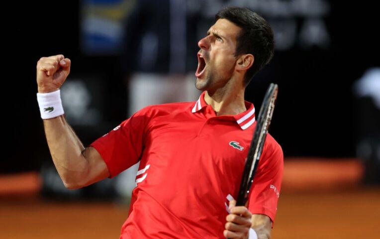 Djokovic naar de finale van ATP Rome