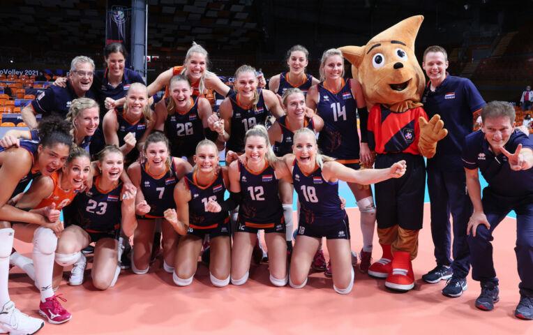 Kwartfinale EK Volleybal: Nederland - Zweden