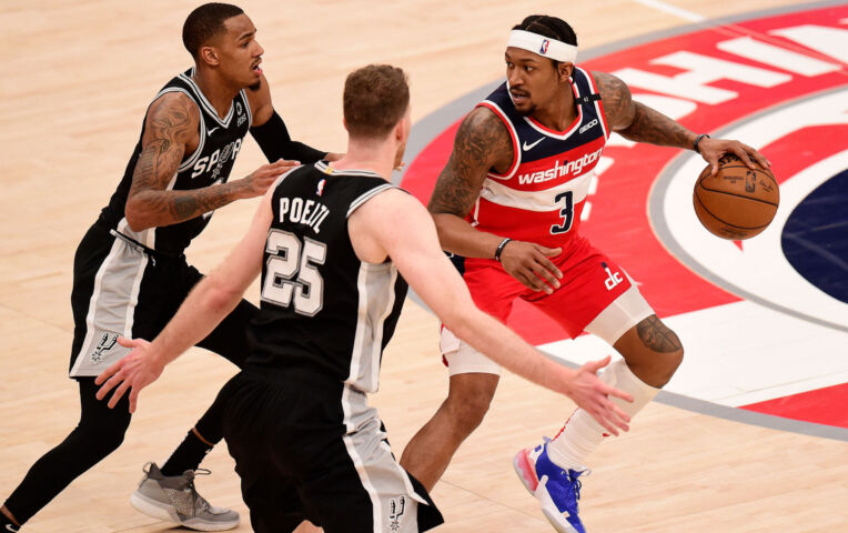 The Fast Break: Spurs breken Wizards winstreak in overtime