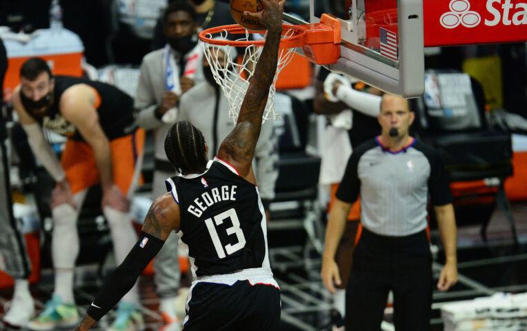 The Fast Break: George knalt Clippers langs de Suns