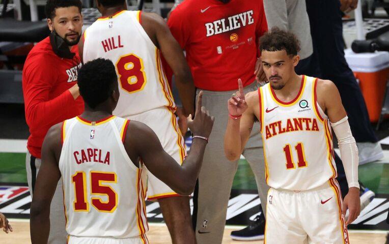 The Fast Break: Young en Hawks te sterk voor Bucks in game 1