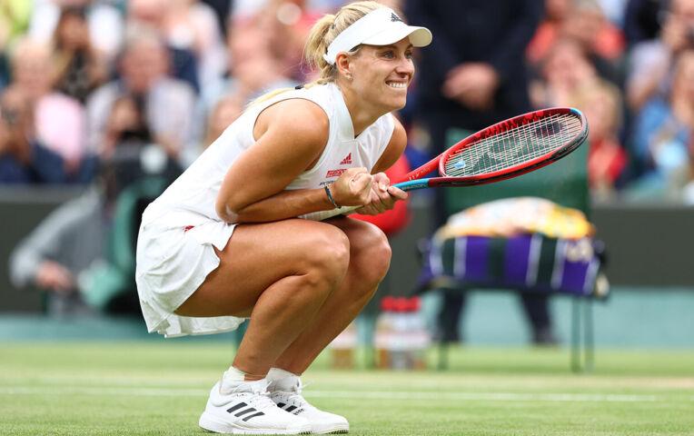 Kerber weer naar de halve finale van Wimbledon