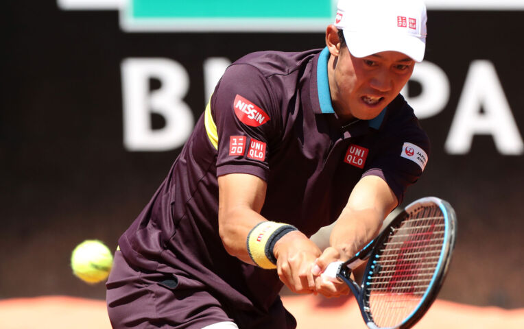 Fritz en Nishikori winnen in de eerste ronde van het ATP Rome