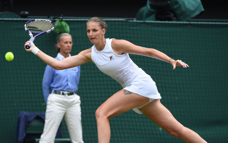 Pliskova speelt finale Wimbledon tegen Barty