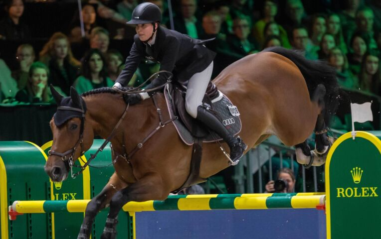 Paardrijden VDL Groep prijs: Kim Emmen wint net niet