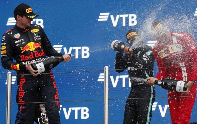 Highlights Formule 1 GP van Rusland: Race