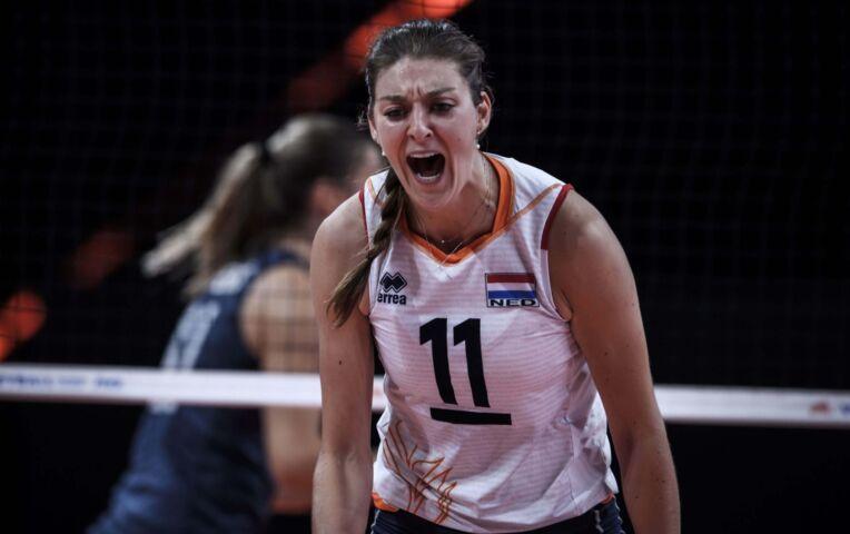 VNL: Nederland - USA