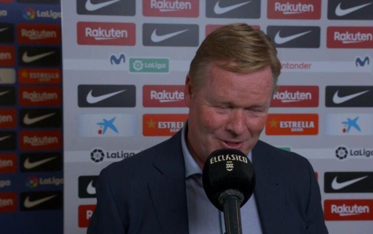 Koeman: 'Ik vond ons goed spelen, maar te weinig grote kansen'