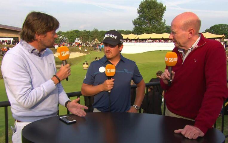 Darius van Driel tevreden na zijn goede prestatie op het Dutch Open