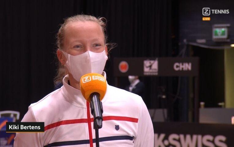 Interview Kiki Bertens over blessure en winst op China