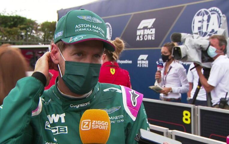 Vettel: 'We probeerden iets anders dan de rest, dat ging wel oké'