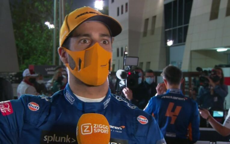 Ricciardo: 'Als dit een slecht weekend is, gaat het erg goed'